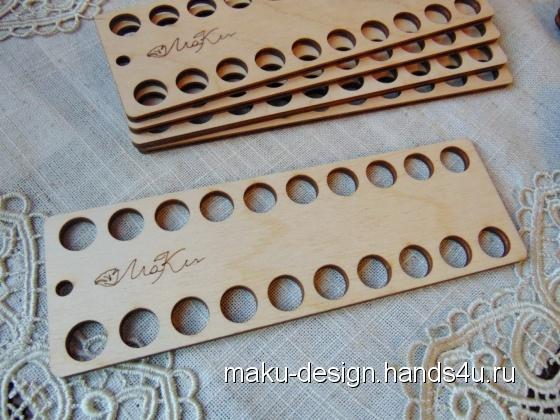 Купить Органайзер для мулине на 20 цветов, Инструменты, Вышивка ручной работы. Мастер Марина Гончарова (MaKu-design) . органайзер для мулине