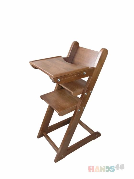 Купить Стульчик для кормления из дерева, Детская мебель, Детская, Для дома и интерьера ручной работы. Мастер Александр Сальников (Stolyar) . стульчик