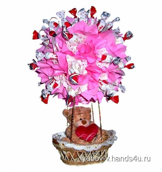 Купить Воздушный шар, Подарки к праздникам ручной работы. Мастер Любовь В. (Lyubov-v) .