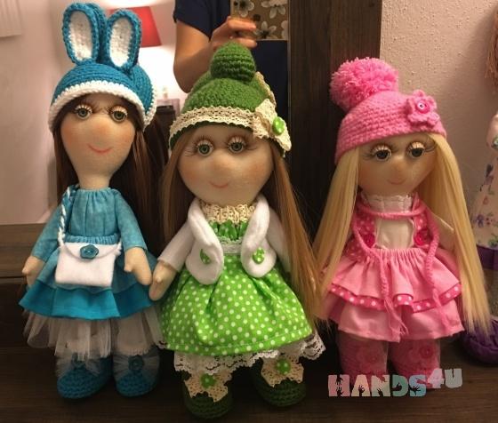 Купить Кукла ручной работы, Текстильные, Коллекционные куклы, Куклы и игрушки ручной работы. Мастер Наталья Меркулова (3olotyeru4ki) .