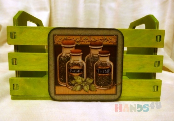 Купить ящик короб для специй декупаж, Кухня, Для дома и интерьера ручной работы. Мастер Тиана Раева (tianaArt) . ящик для специй декупаж купить