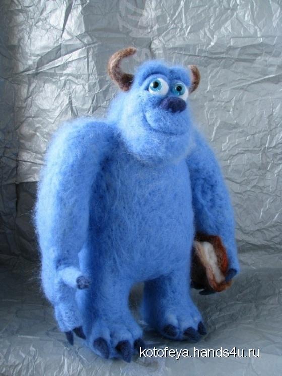 Купить Монстр из шкафа, Мультяшные, Сказочные персонажи, Куклы и игрушки ручной работы. Мастер   (KotoFeya) . интерьерная игрушка
