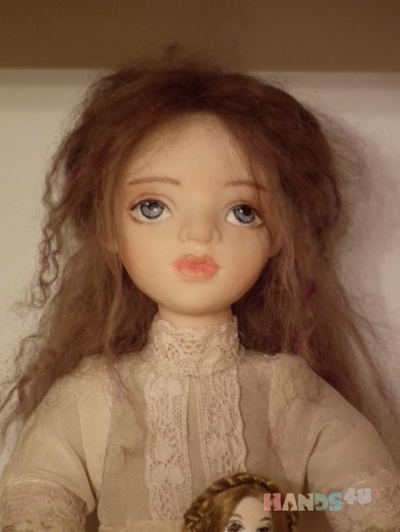 Купить Элиза, Полимерная глина, Коллекционные куклы, Куклы и игрушки ручной работы. Мастер Юлия Иванова (annasyper) . авторская кукла