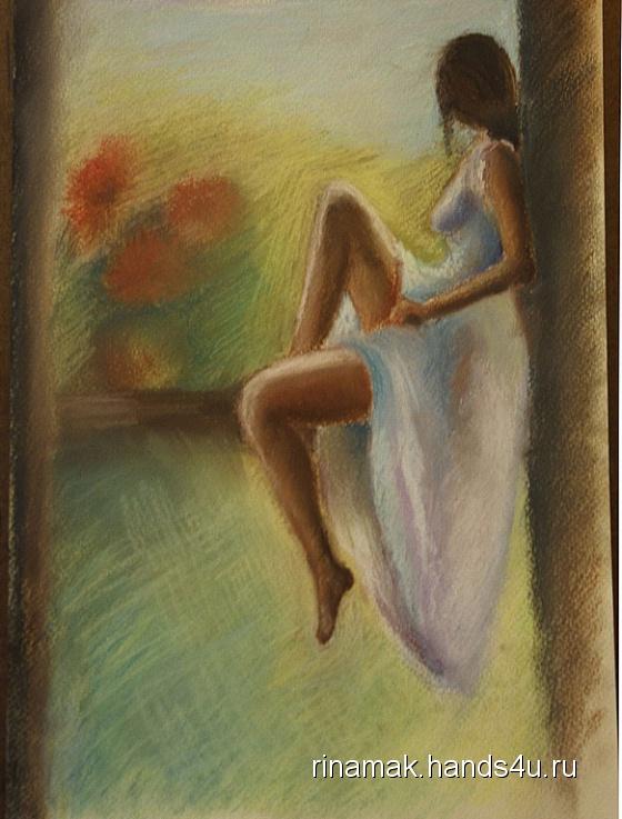 Купить Картина Мечты, Люди, Картины и панно ручной работы. Мастер Рина Мак (Rinamak) .