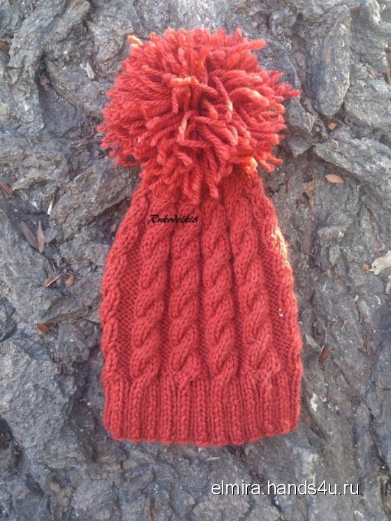 Купить Детская шапка, Шапочки, шарфики, Одежда унисекс, Работы для детей ручной работы. Мастер Эльмира  (Elmira) . вязаная шапка