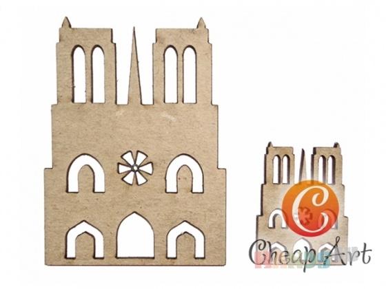 Купить Декоративный элемент Нотр-Дам де Пари (2 шт), Промышленные, Декоративные элементы, Декупаж и роспись ручной работы. Мастер   (cheap-art) .