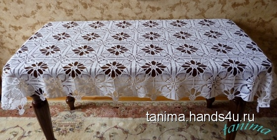 Купить Эксклюзивная скатерть ручной работы, Скатерти, Текстиль, ковры, Для дома и интерьера ручной работы. Мастер Амина  (tanima) .