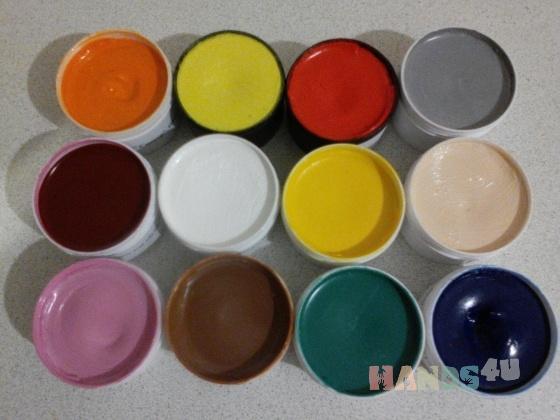 Купить Крем-краска для обуви, Крем, гель, сыворотка, Косметика ручной работы. Мастер Валерий Лужанский (spectrum) .