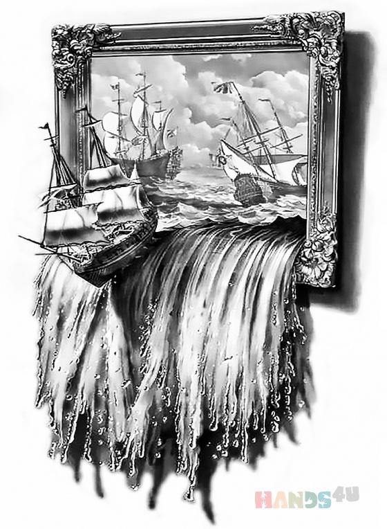 Купить Картина выжженная, Пейзаж, Картины и панно ручной работы. Мастер Александр Изварин (Dobrynya) . картина