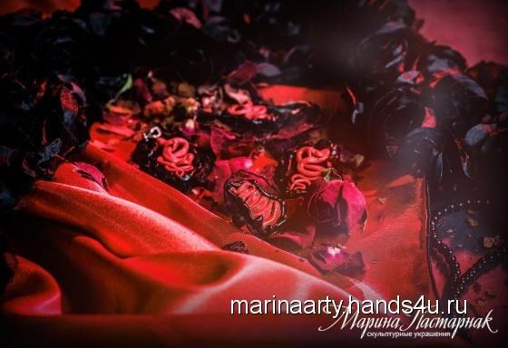 Купить Готика с кровью, Украшения ручной работы. Мастер Марина Пастарнак (marinaarty) .