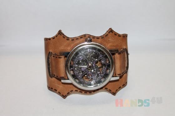 Купить ремешок для часов Эстет, Кожаные, Браслеты, Украшения ручной работы. Мастер Арина Шикунова (Mypka) . кожа натуральная