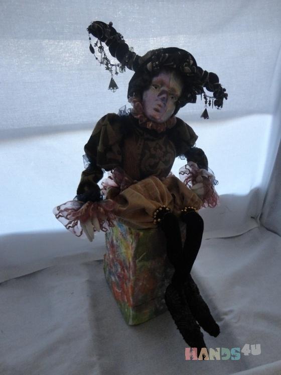 Купить mikele, Смешанная техника, Коллекционные куклы, Куклы и игрушки ручной работы. Мастер Gvanca Nikuradze (Gvanca) . smeshanai