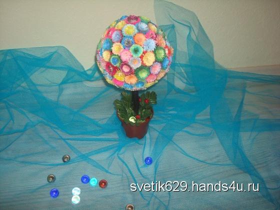 Купить Дерево на счастье, Сувениры и подарки ручной работы. Мастер Светлана Матвеева (Svetik629) . различные