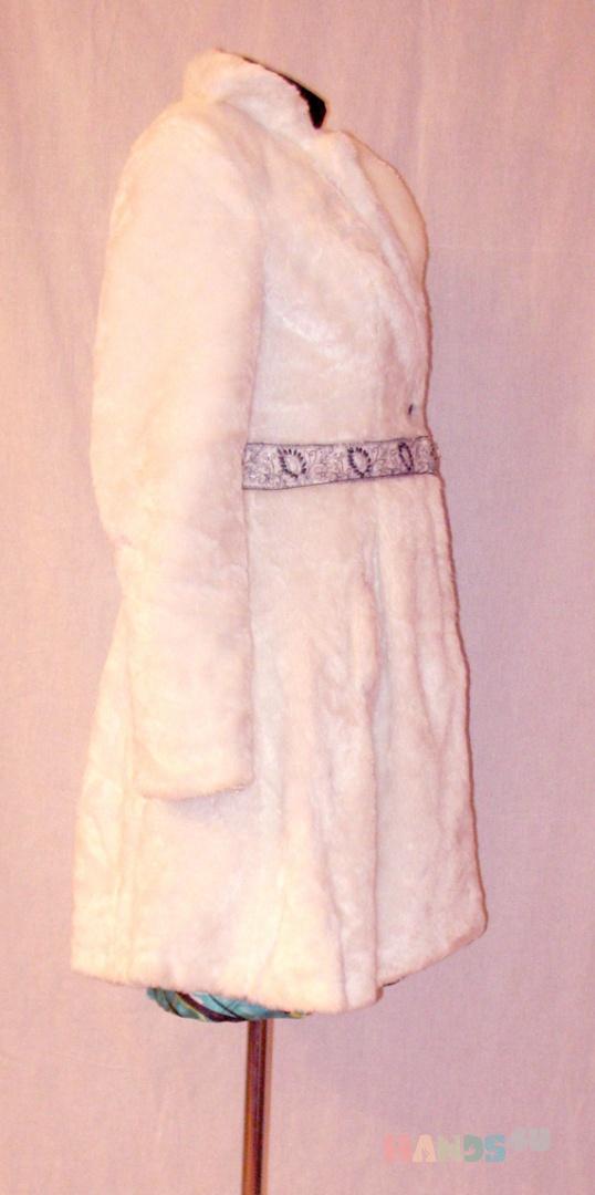 Купить пальто, Одежда ручной работы. Мастер Диана Гупало (snowy) .