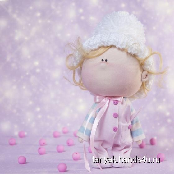Купить Кукла текстильная ручной работы Малышка, Текстильные, Коллекционные куклы, Куклы и игрушки ручной работы. Мастер Татьяна К (TanyaK) . кукла