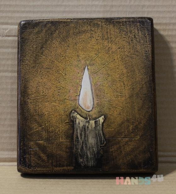 Купить Иконное панно Свет, Символизм, Картины и панно ручной работы. Мастер Вогул Виталий (Vogul) .