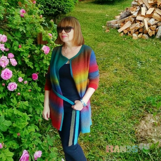 Купить Кардиган шерстяной, Кардиганы, Кофты и свитера, Одежда ручной работы. Мастер наталья мальцева (Tauranga) . вязаный