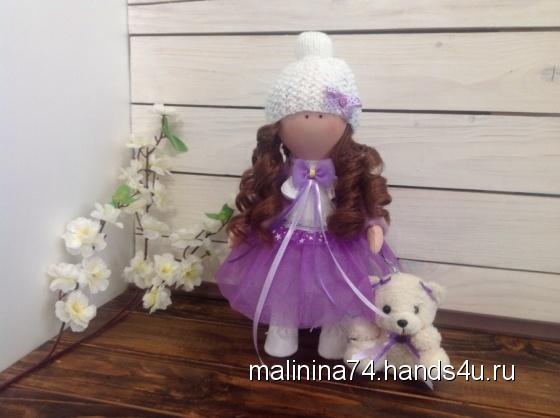 Купить Кукла интерьерная текстильная 30см, Куклы Тильды, Куклы и игрушки ручной работы. Мастер Елена Малинина (malinina74) . кукла интерьерная