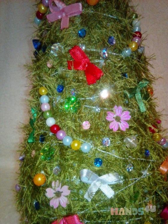 Купить Елка, Новогодние елки, Новый год, Подарки к праздникам ручной работы. Мастер Лана  (Sweetlana) . елка