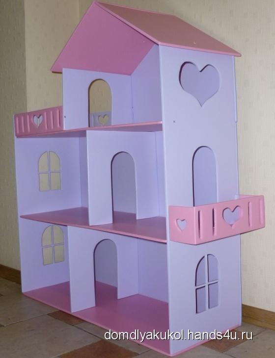 Купить Кукольный домик маленький, Кукольный дом, Куклы и игрушки ручной работы. Мастер Елена Криницкая (domdlyakukol) . кукольный дом