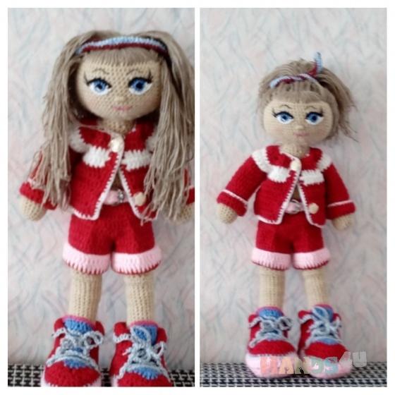 Купить Кукла крючком , Вязаные, Человечки, Куклы и игрушки ручной работы. Мастер Татьяна Ефремова (tanyaef) . авторская кукла