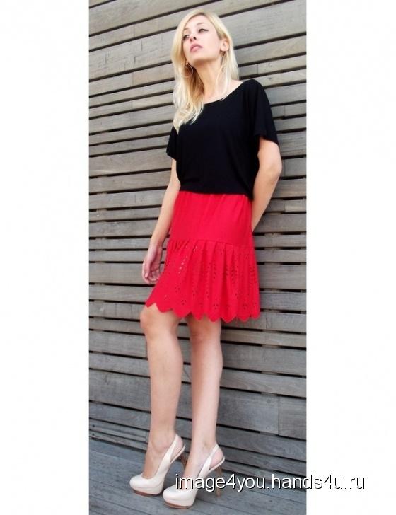 adcc6688777 ... летняя юбка Ламбада Купить Трикотажная летняя юбка Ламбада