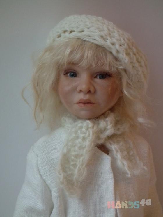 Купить Полинна, Полимерная глина, Коллекционные куклы, Куклы и игрушки ручной работы. Мастер Юлия Иванова (annasyper) . авторская кукла