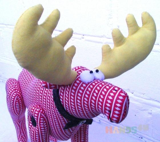 Купить Мягкая игрушка Лосик, Другие животные, Зверята, Куклы и игрушки ручной работы. Мастер   (Polli-Co) . лось игрушка
