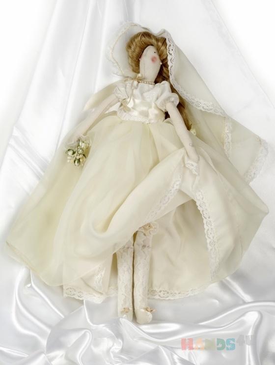 Купить Тильда невеста, Куклы Тильды, Куклы и игрушки ручной работы. Мастер Наталия Каталина (kanape) . невеста