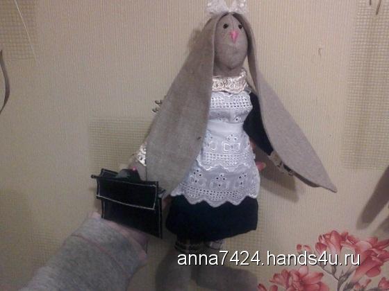 Купить Зайцы тильды, Куклы Тильды, Куклы и игрушки ручной работы. Мастер аннушка сергеева (anna7424) . зайцы
