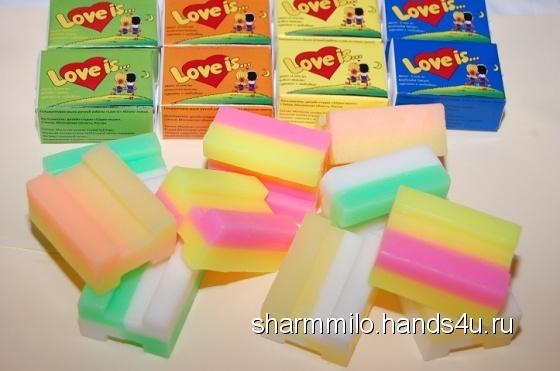 Купить Love is - сувенирное мыло с ароматом райского наслажденья, Подарки для влюбленных, Подарки к праздникам ручной работы. Мастер Вячеслав Черепанский (sharmmilo) . мыло сувенирное