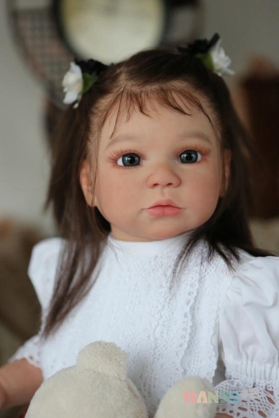 Купить Маргарита, Куклы-младенцы и reborn, Куклы и игрушки ручной работы. Мастер Эльвира Кулигина (elvira) . золотой