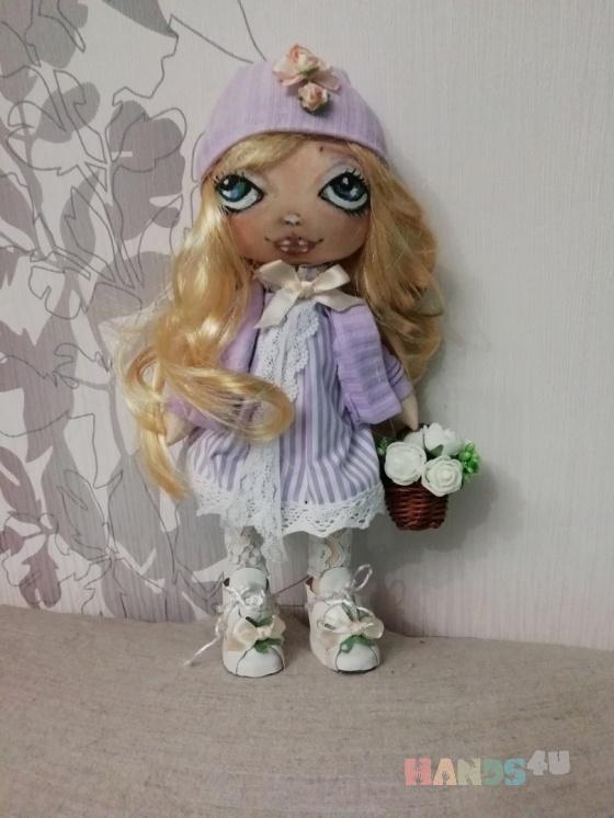 Купить Кукла Милана, Смешанная техника, Коллекционные куклы, Куклы и игрушки ручной работы. Мастер Татьяна Лымарь (handmade-61) . авторская кукла