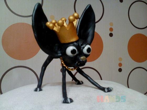 Купить Скульптура Собака, Приколы, Сувениры и подарки ручной работы. Мастер Pavel Palamarchuk (LanDee136) . полимерная глина