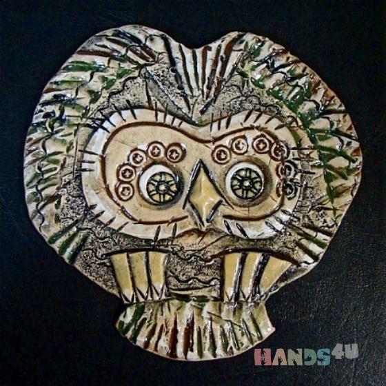 Купить Сова в полёте, Животные, Картины и панно ручной работы. Мастер Руслан Сабиров (ruans) . авторская керамика