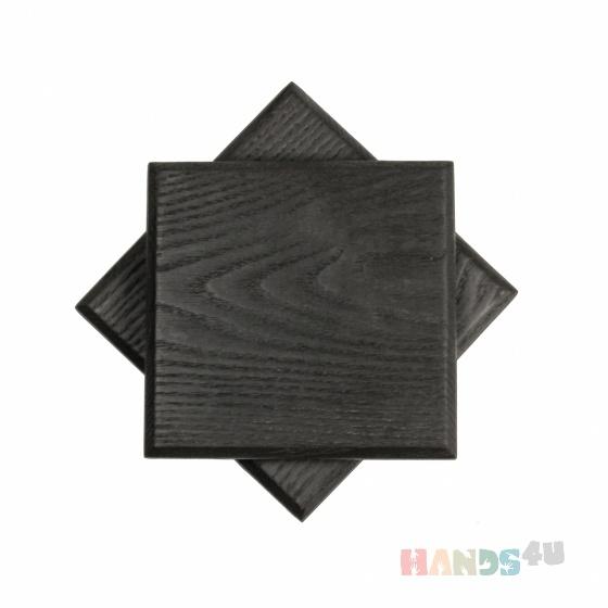 Купить Сет из 2-х досок для подачи Чёрный квадрат, Разделочные доски, Кухня, Для дома и интерьера ручной работы. Мастер Хоку Рум (hokuroom) . доска