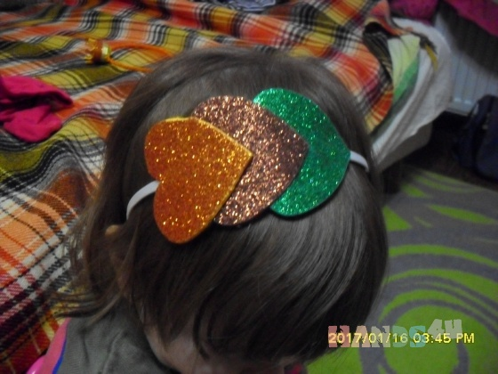 Купить ободки, Обручи, короны, Детская бижутерия, Работы для детей ручной работы. Мастер камилла сулимовская (kamilla) . фетр фоамин