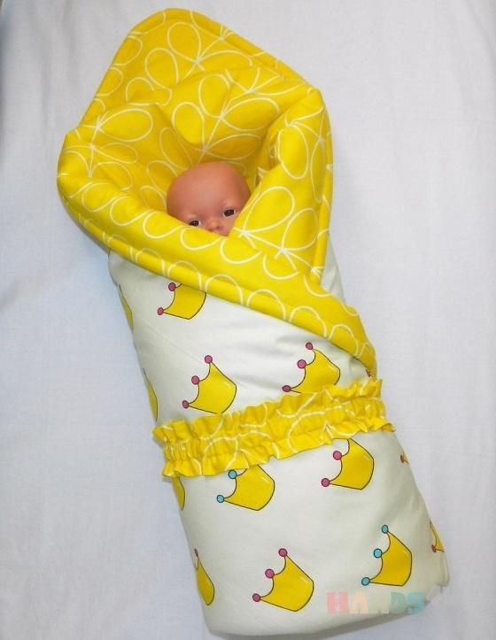 Купить одеяло, Конверты, Для новорожденных, Работы для детей ручной работы. Мастер Татьяна Корепанова (detki-55) . сатин