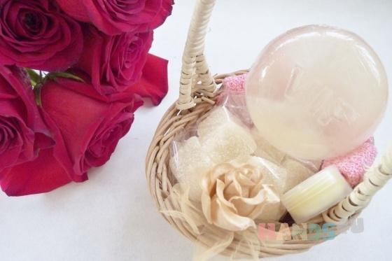 Купить Подарочный набор косметики Dior Jadore 1, Подарки для влюбленных, Подарки к праздникам ручной работы. Мастер Мария Мастерская Арника (handmademilo) . подарок девушке