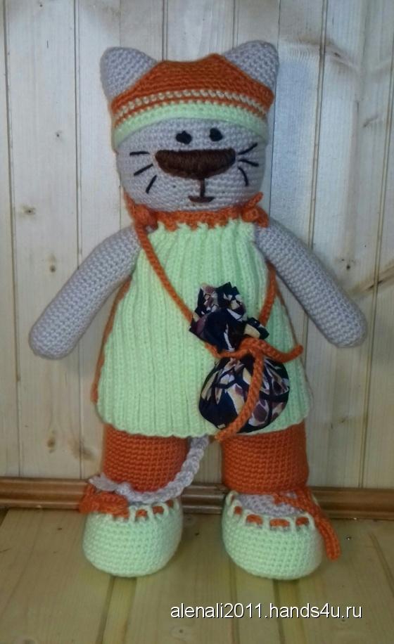 Купить Киска в стиле тильда, Коты, Зверята, Куклы и игрушки ручной работы. Мастер Елена  (alenali2011) .
