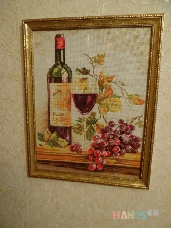 Купить Вышитая картина Изабелла, Натюрморт, Картины и панно ручной работы. Мастер Екатерина  (LimeLight) . вышивка крестиком