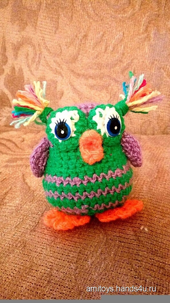 Купить Безумная сова, Другие животные, Зверята, Куклы и игрушки ручной работы. Мастер Елизавета Базовкина (Amitoys) .