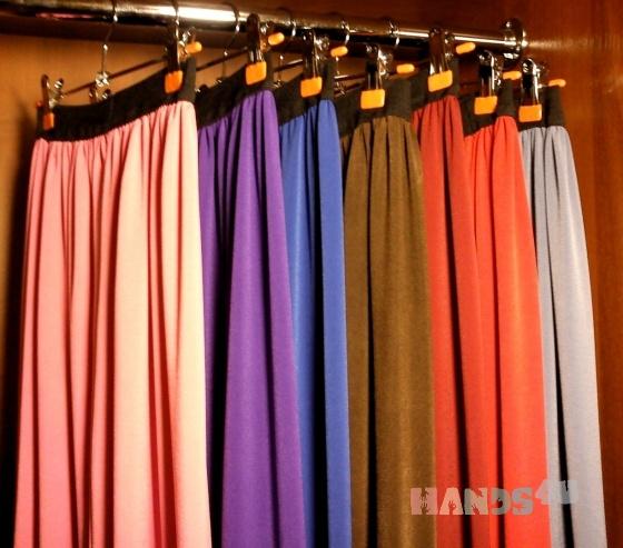 Купить Трикотажные юбки, Шитые, Юбки, Одежда ручной работы. Мастер Татьяна Сусарова (Cremoff) . трикотажные юбки
