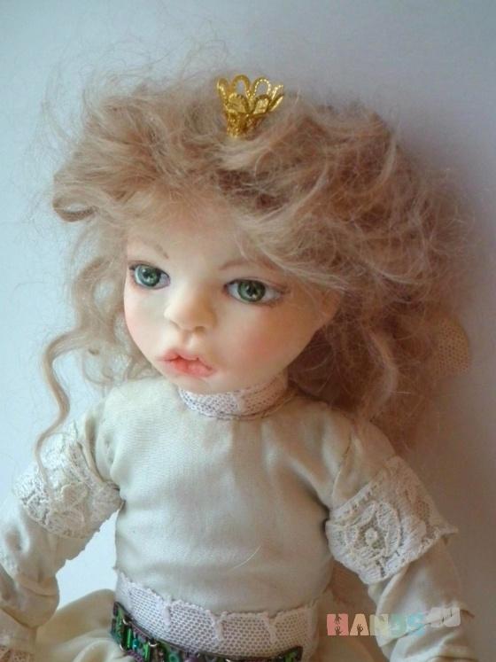 Купить Энни маленькая принцесса, Полимерная глина, Коллекционные куклы, Куклы и игрушки ручной работы. Мастер Юлия Иванова (annasyper) . авторская кукла