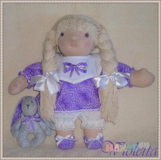 Купить Виолетта, Вальдорфская игрушка, Куклы и игрушки ручной работы. Мастер Елена Дашина (elenadashina) . вальдорфская кукла