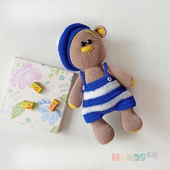 Купить Медвежонок, Куклы и игрушки ручной работы. Мастер Ирина Анисимова (AnisimovaToy) . вязаный мишка
