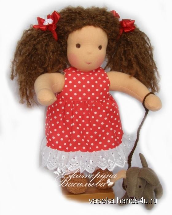 Купить Кукла  Кира в вальдорфском стиле, Вальдорфская игрушка, Куклы и игрушки ручной работы. Мастер Екатерина Васильева (vaseka) .