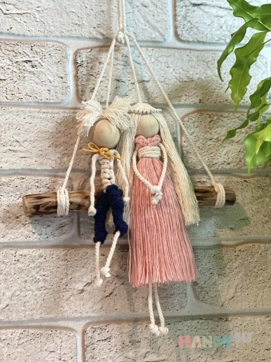 Купить Макраме , Народные куклы, Куклы и игрушки ручной работы. Мастер Александра Погодина (macrame) . макраме