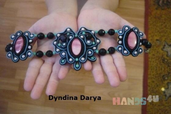 Купить браслет  Бабочка , Смешанная техника, Браслеты, Украшения ручной работы. Мастер Darya Dyndina (Darya) .