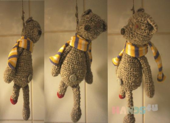 Купить Инвалид, Мишки, Зверята, Куклы и игрушки ручной работы. Мастер Анна Рябчикова (Annet-omlet) . коллекционный медведь